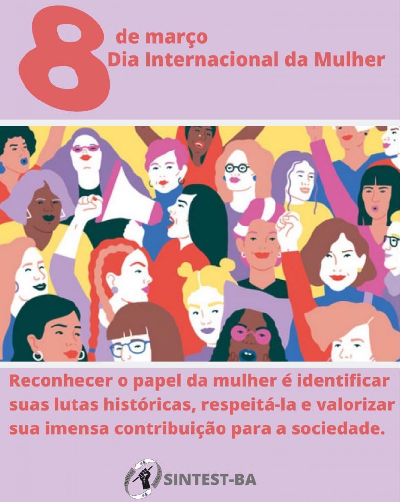 Dia Internacional da Mulher marca luta por igualdade de direitos