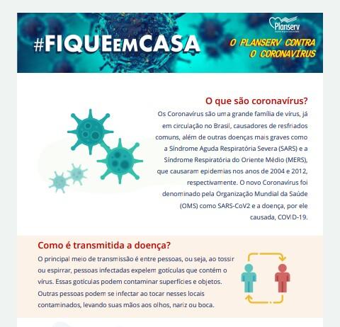 Todos contra o Corona vírus- Informe Planserv