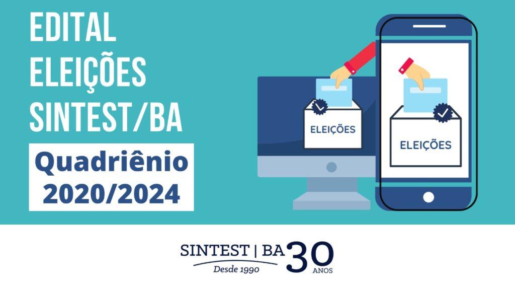 SINTEST abre edital de convocação para eleição sindical 2020/2024