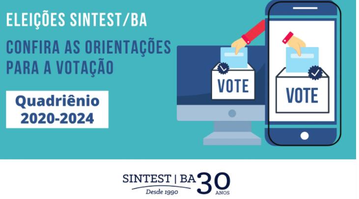 Eleições SINTEST/BA: Saiba como será o processo de votação