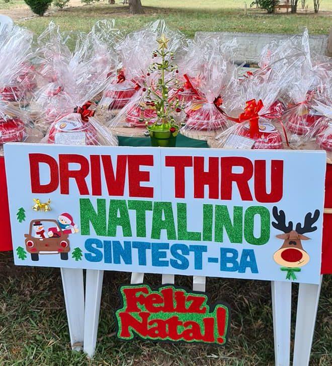 SINTEST-BA promove Drive-Thru para celebrar o Natal com os(as) seus(suas) filiados(as)