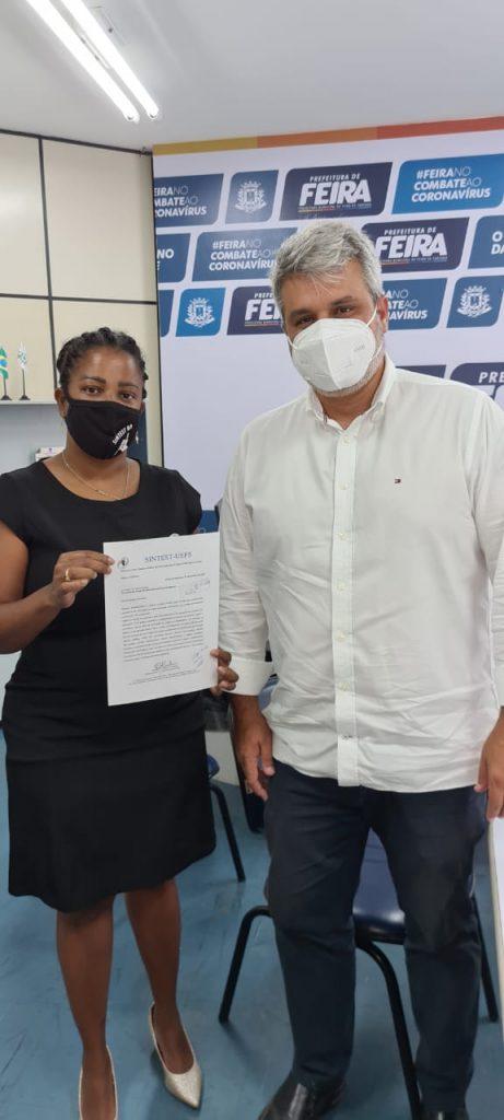 Sintest busca garantir a imunização dos trabalhadores da Uefs em grupo prioritário