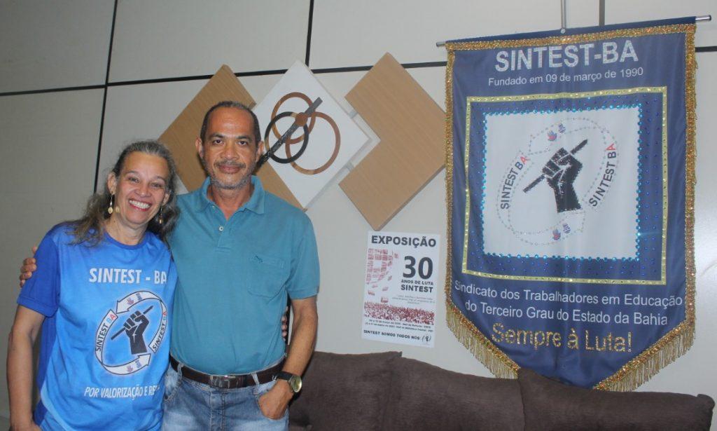 SINTEST-BA 30 ANOS: ENTREVISTA COM EX COORDENADORES – ANDRÉ LUIZ BASTOS