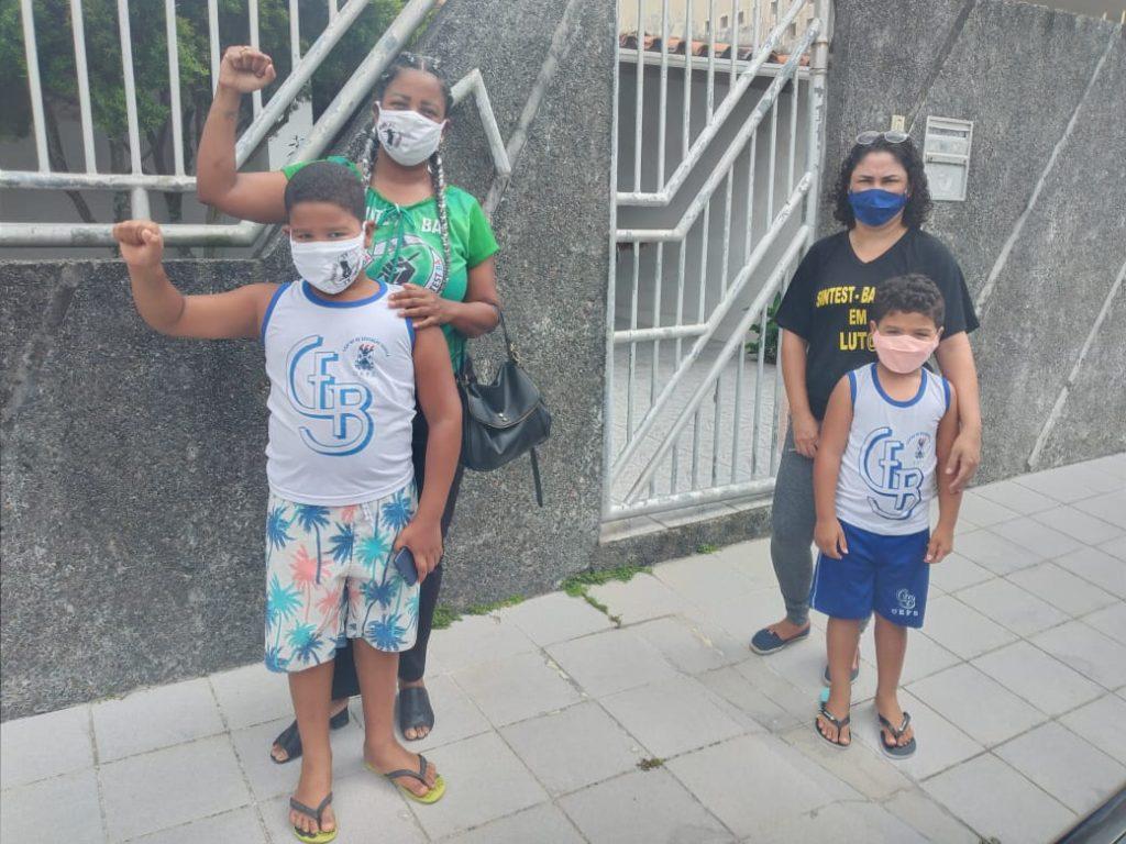 Luta pelo prédio do CEB: Sintest vai a residência do Secretário de Educação do Estado