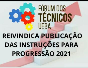Fórum dos Técnicos reivindica publicação das instruções para Progressão 2021