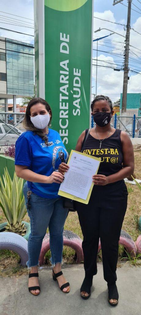Sintest dialoga com Secretaria de Saúde para vacinar os trabalhadores da Uefs e defende que campus seja um ponto de vacinação