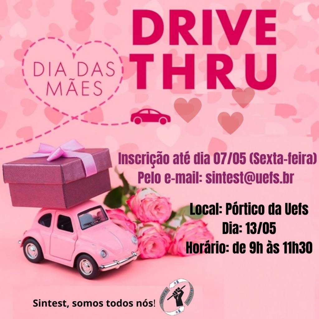 Sintest promove Drive Thru em comemoração ao Dia das Mães