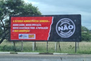 Fórum dos Técnicos faz nova campanha contra Reforma Administrativa