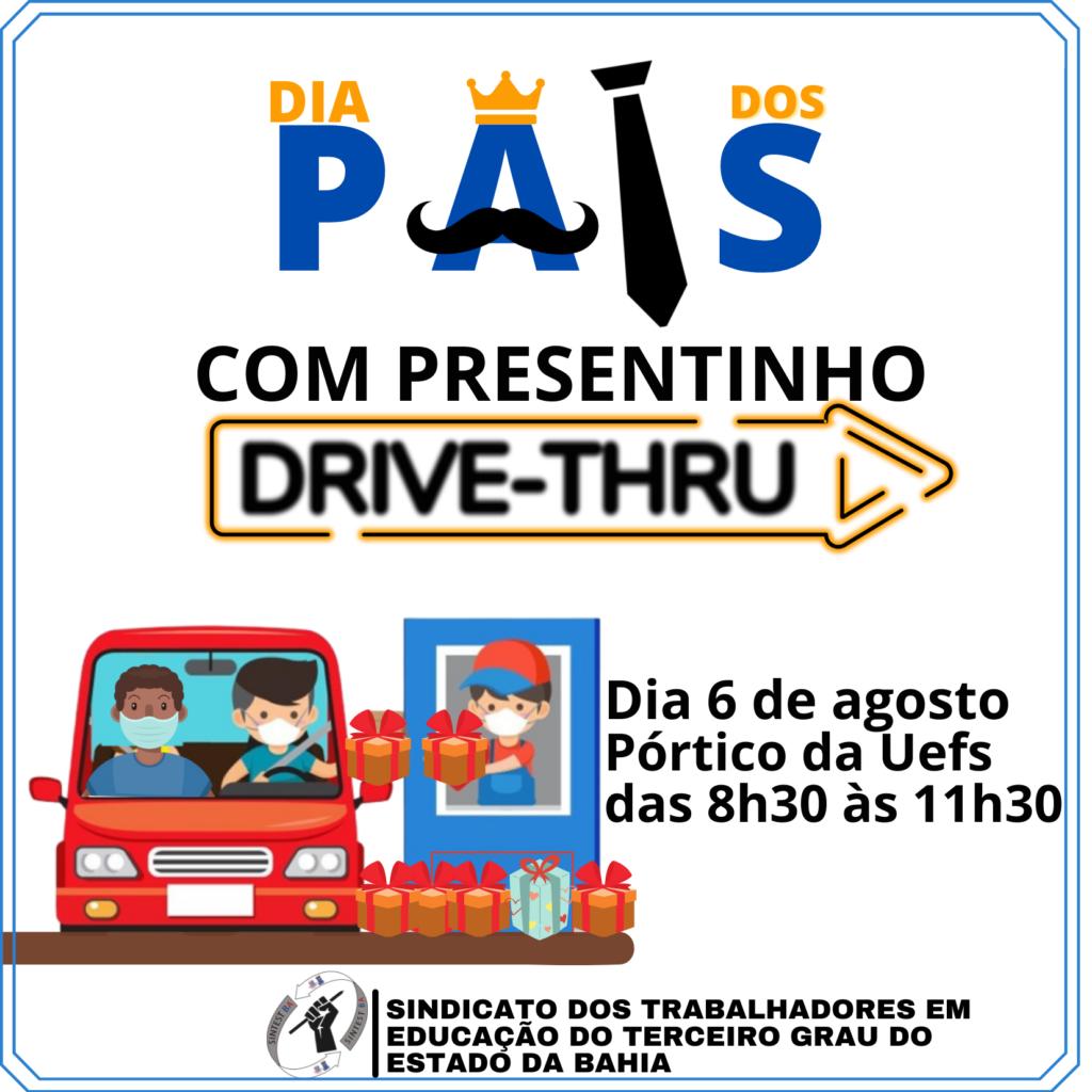 Sintest promove Drive-Thru em homenagem ao Dia dos Pais