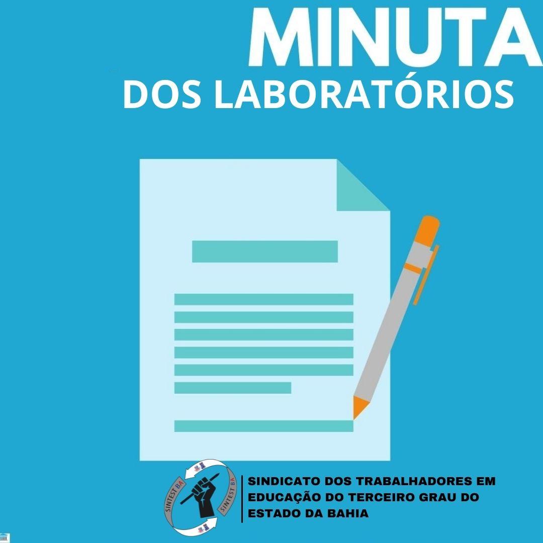 """Sintest defende construção de uma única """"minuta dos laboratórios"""""""