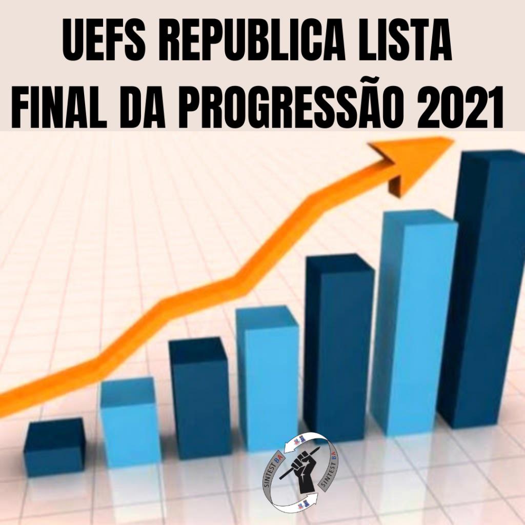 Uefs republica lista final da progressão 2021