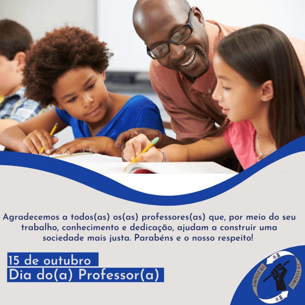 15 de outubro: Dia do/a Professor/a